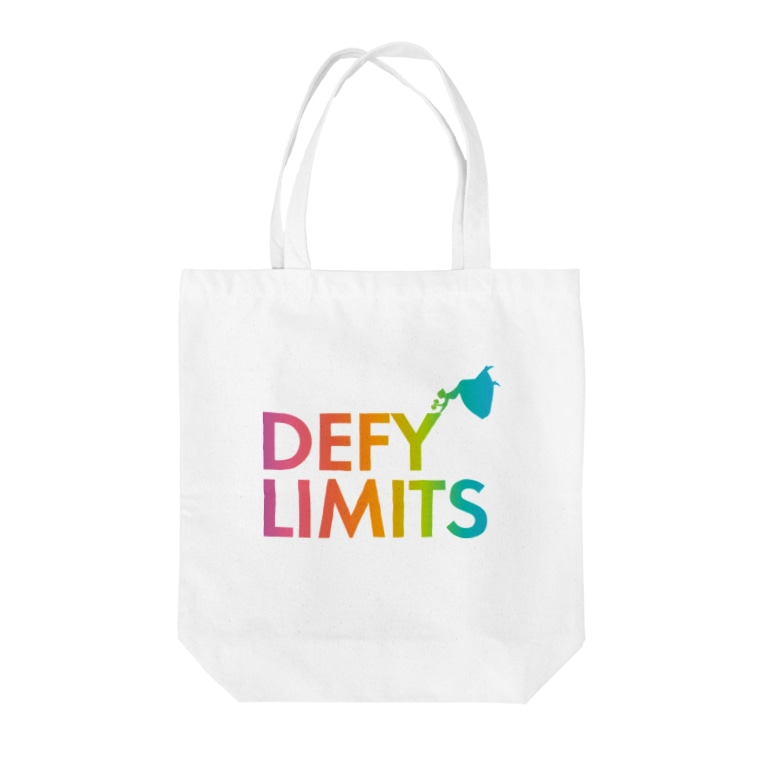 BASE forのDEFY LIMITS WOMAN Rainbow Tote bags