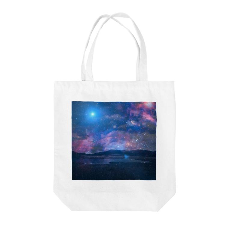 suparnaの銀河湿原 Tote bags