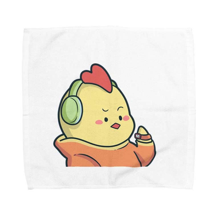 ピカロンのにわとりさん Towel Handkerchief