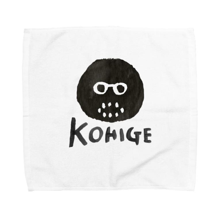 gokenncyou_1231の黒髭ロゴ Towel handkerchiefs