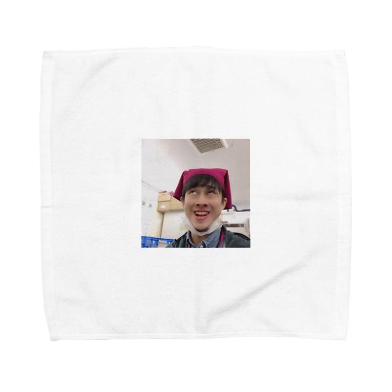 yudai_boy_d_44の平野智也専用iPhoneケース Towel handkerchiefs