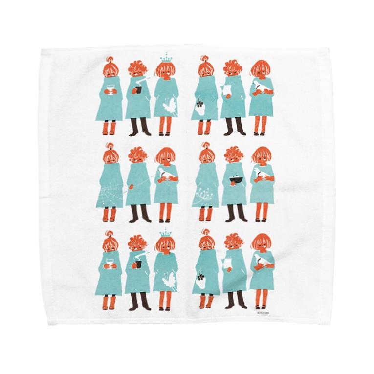 佳矢乃のBoys&Girls Towel handkerchiefs