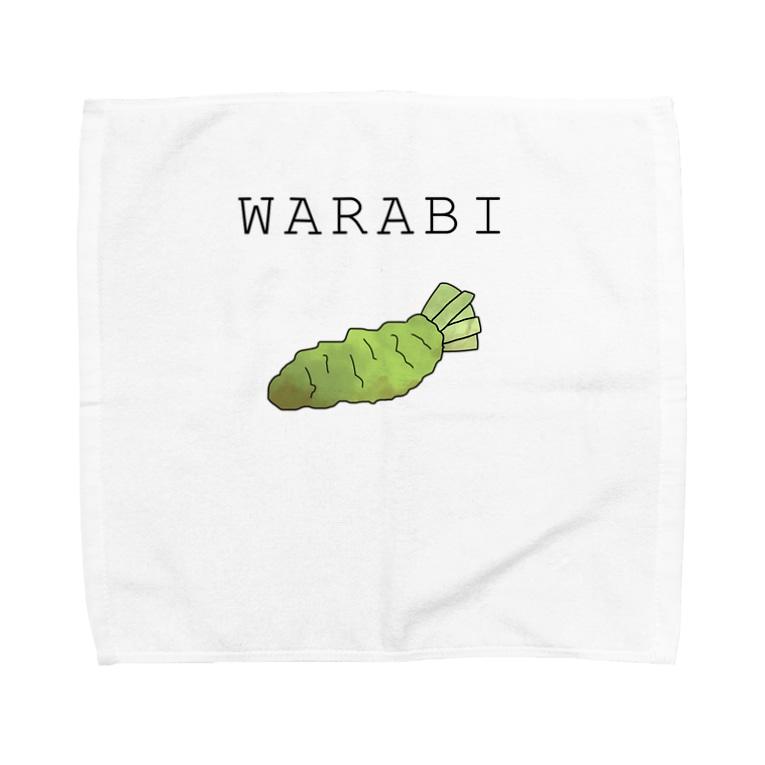 ぱぁら(多忙)の蕨スキスキグッズその2 Towel handkerchiefs