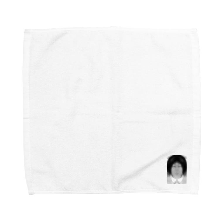 POCO★ARTのアフロ肉団子 Towel handkerchiefs