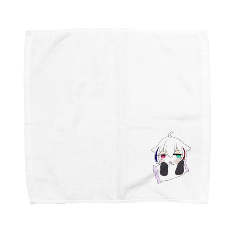 まほむしょっぷのまほむのよだれ拭きタオル Towel handkerchiefs
