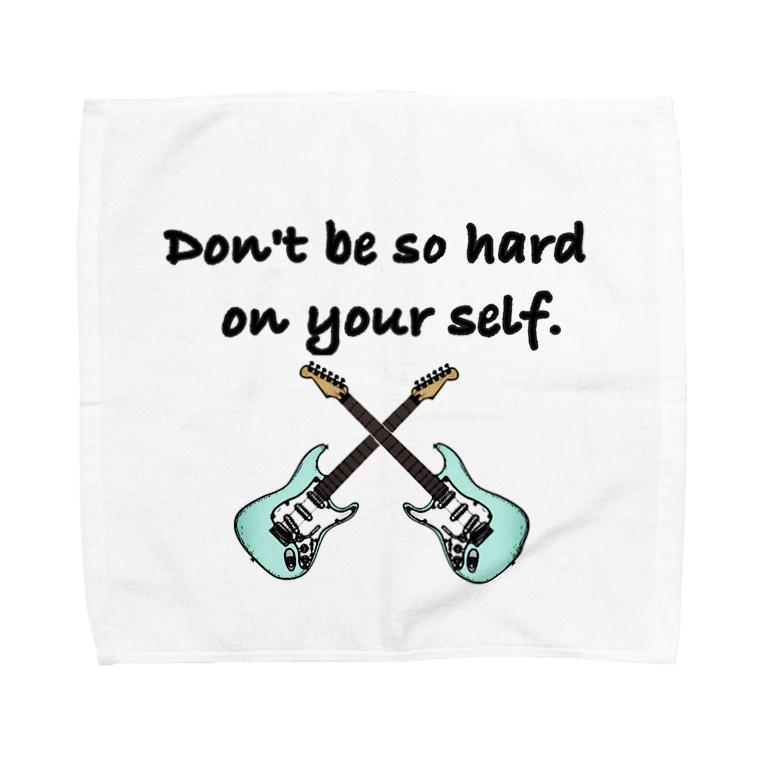 Suzuki Satomi イラストショップの気楽に行こうぜ Towel handkerchiefs