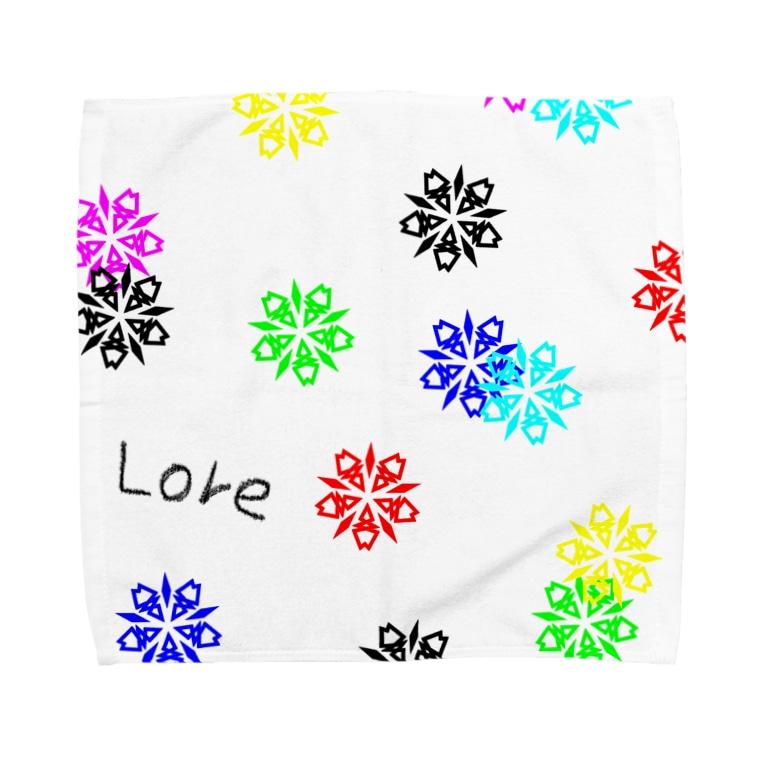 LoreのLore(BLACK) Towel handkerchiefs