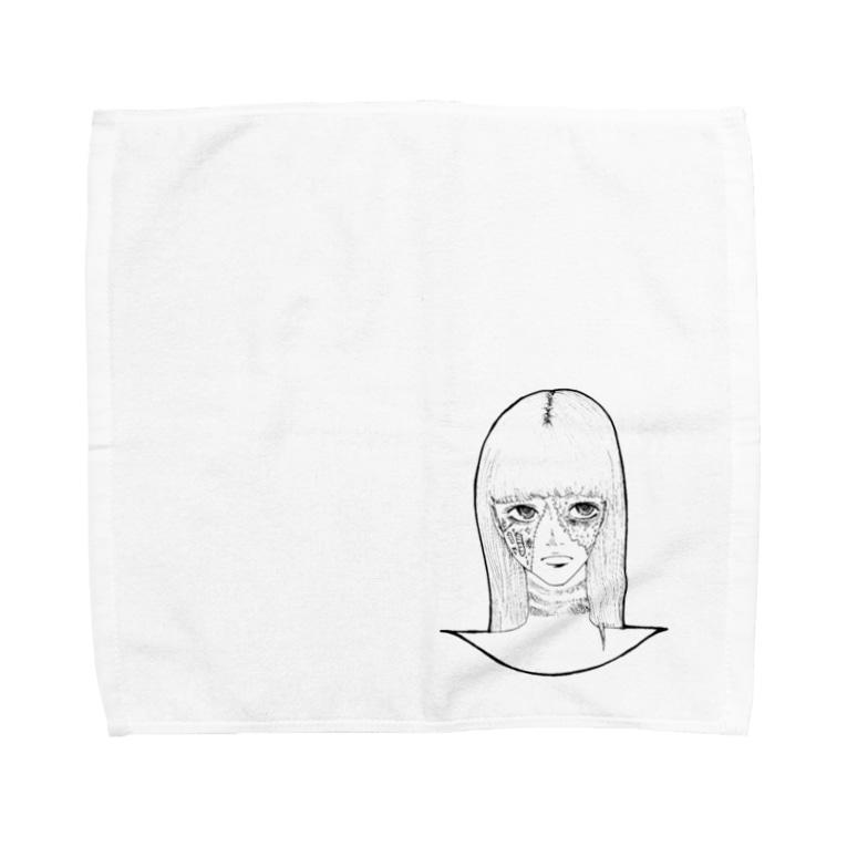 Tsuna ⁂のハロウィンゾンビ女その2 Towel handkerchiefs
