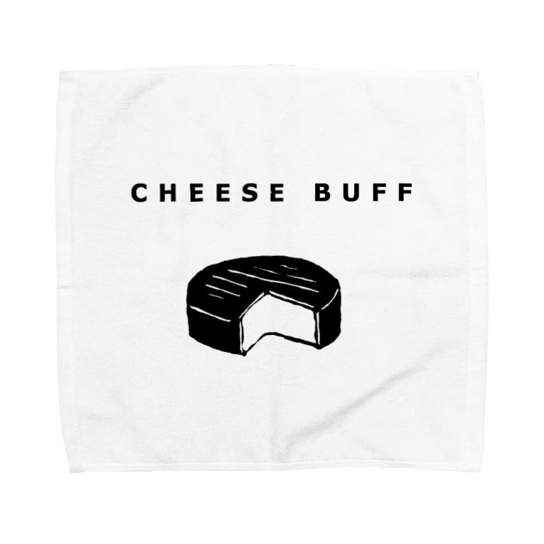 NIKORASU GOのCHEESE BUFF<チーズ愛好家> Towel handkerchiefs