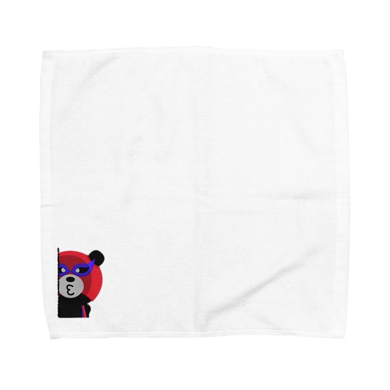 HONDA GRAPHICS Lab.のへんしんまいどくん Towel handkerchiefs