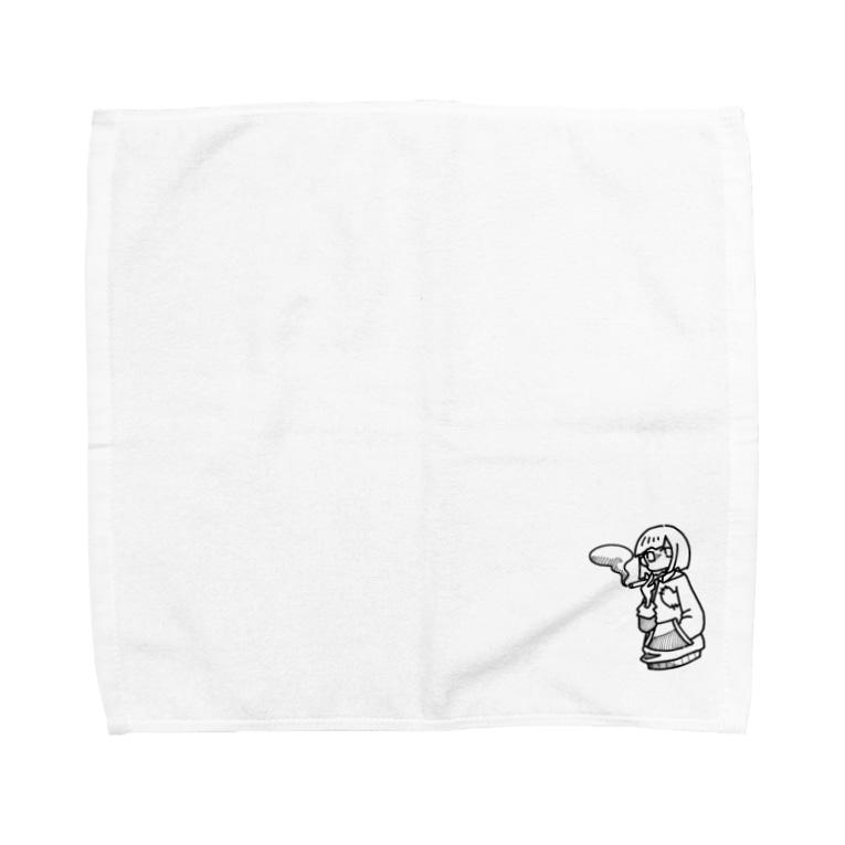 藍月のsmoke... Towel handkerchiefs