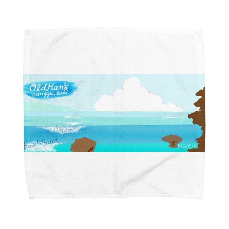 Bow's SurfのBatu Bolong Towel handkerchiefs