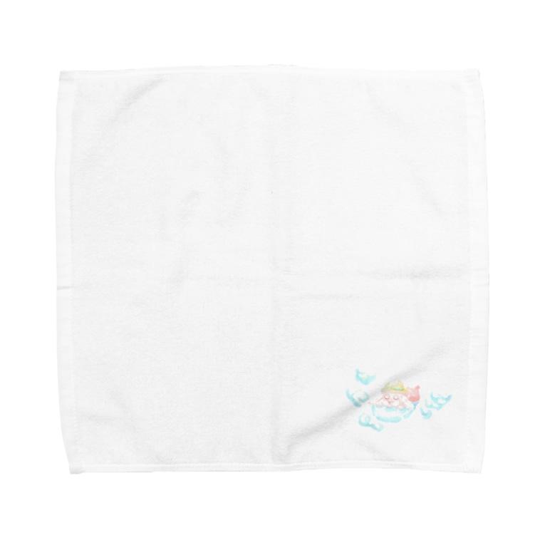 むーんらいとのSunny Place Towel handkerchiefs