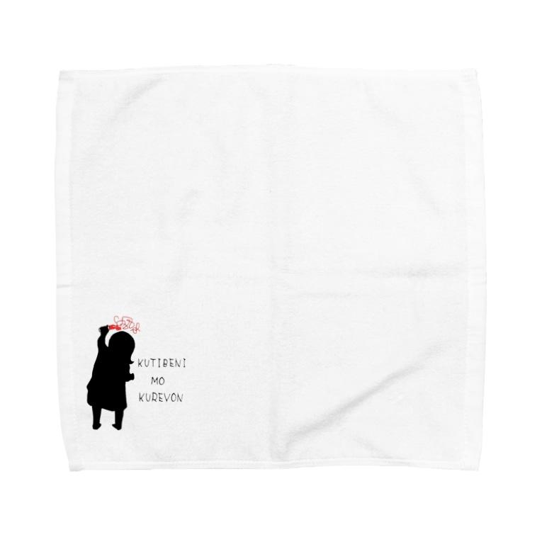 -IKUJIKIROKU-のOEKAKI Towel handkerchiefs