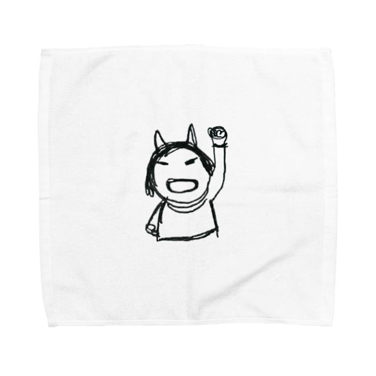 ayayayanのママ、おこるよ Towel handkerchiefs