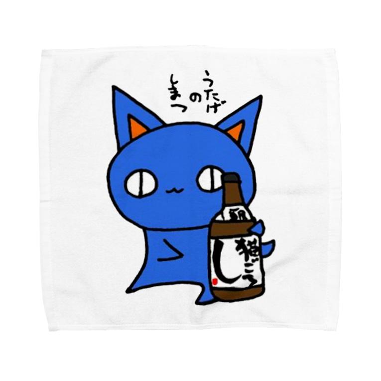 (猫)滝川商会のうたげのしまつ。(ねこず) Towel handkerchiefs
