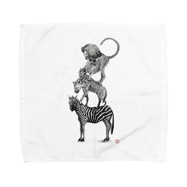 ArtSpringsのワイルドブレーメン(Love All Wild Animals) Towel handkerchiefs