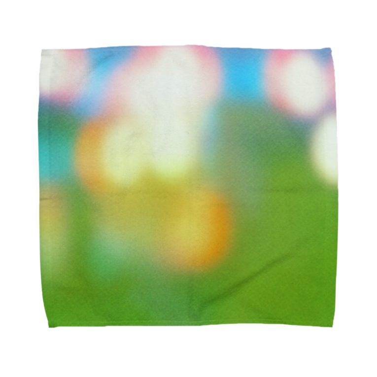 りどりの祭りのあと Towel handkerchiefs