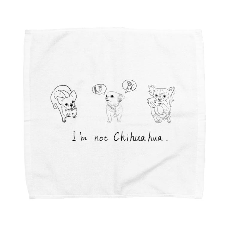kuroyan-nuのはなこちゃん 02-05 Towel handkerchiefs