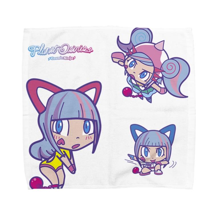 Osiris Collection Shopのオシリたゃん Towel handkerchiefs
