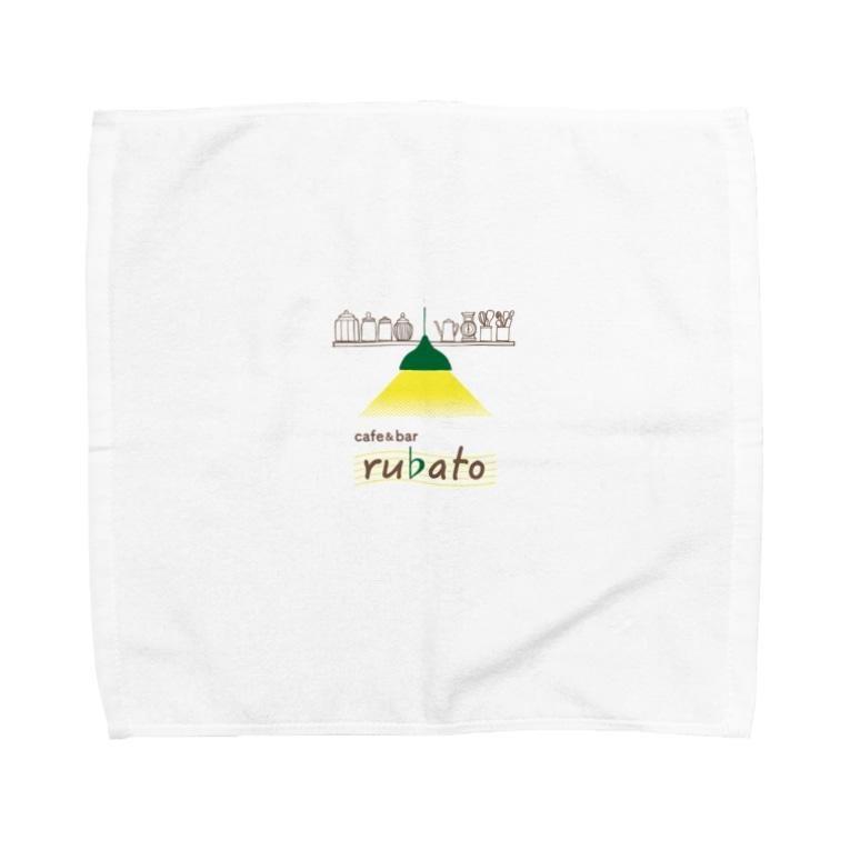 cafe & bar rubatoのrubato Towel handkerchiefs