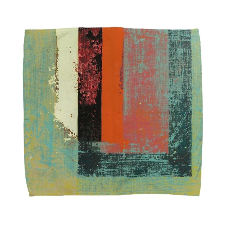 レターオールソーツのGhost Lines - U Towel handkerchiefs