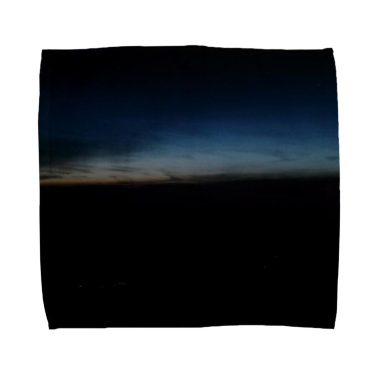 Thomassonの薄明 Towel handkerchiefs