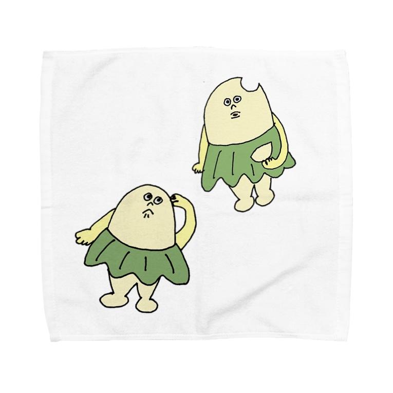 kirinno29の柏原ちまき 〝おとぼけ〟 Towel handkerchiefs