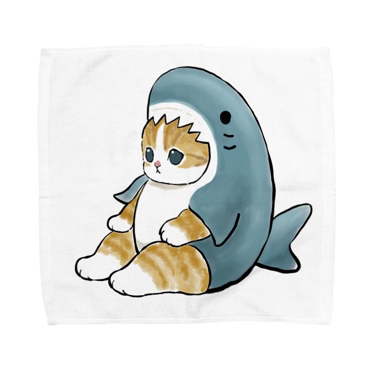 mofusandのサメにゃん Towel handkerchiefs