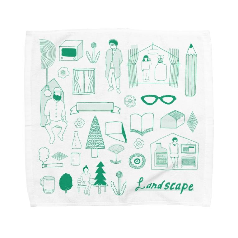 引野 裕詞のlife landscape Towel handkerchiefs