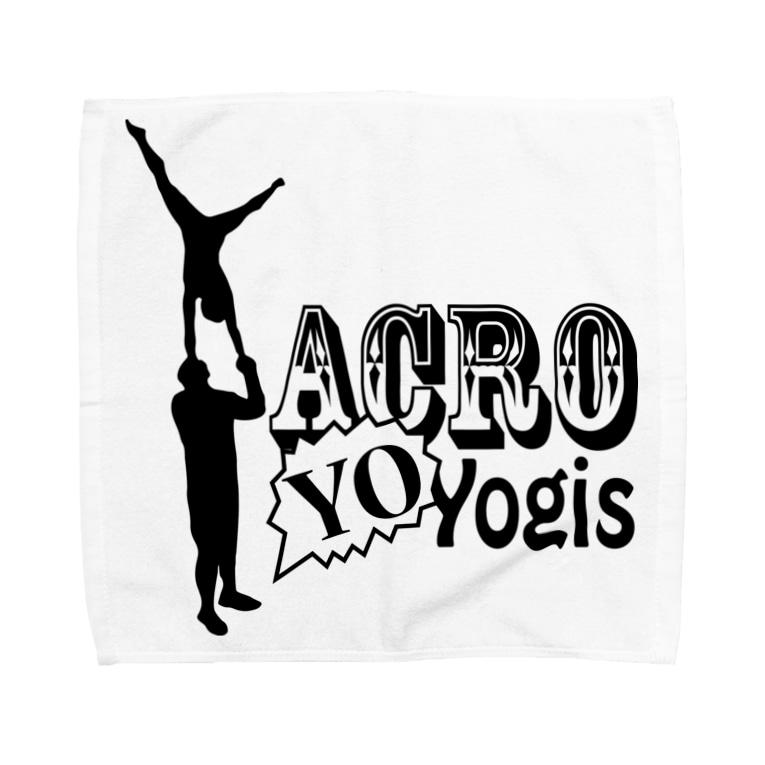 UnstoppableCheerのAcroYOyogis Towel handkerchiefs