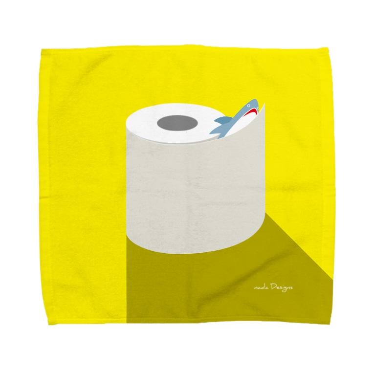 さかたようこ / サメ画家の昼のSAME Paper  Towel handkerchiefs