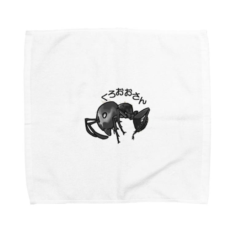 ANT☆Diaryのくろおおさん Towel handkerchiefs