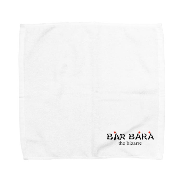 京都バルバラのグッズだよのバルバラロゴシリーズ Towel Handkerchief