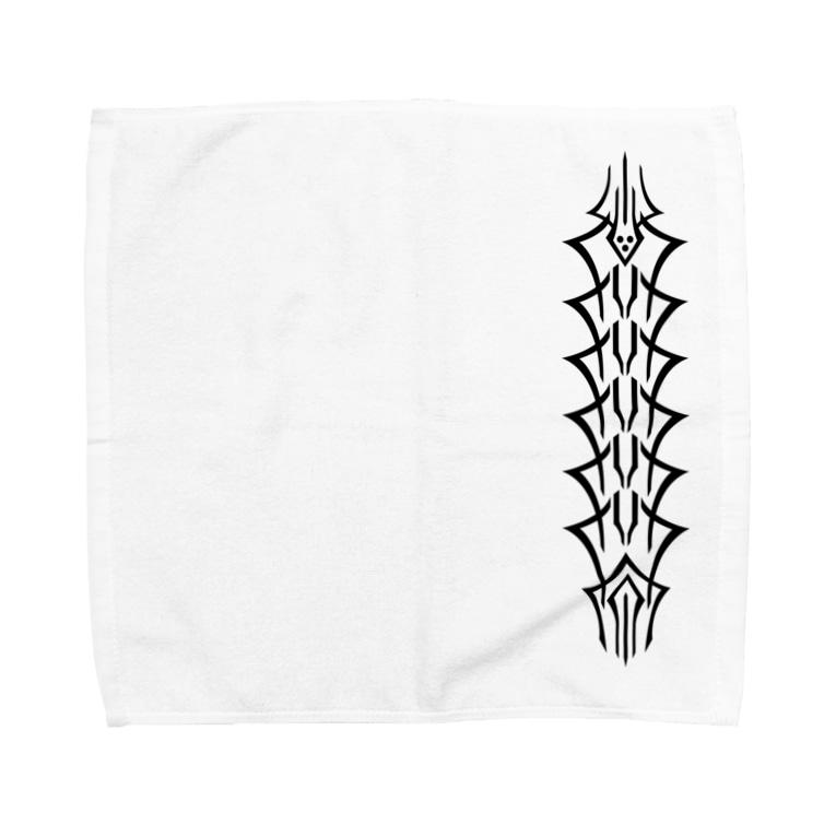 daikicのmushisebone Towel Handkerchief