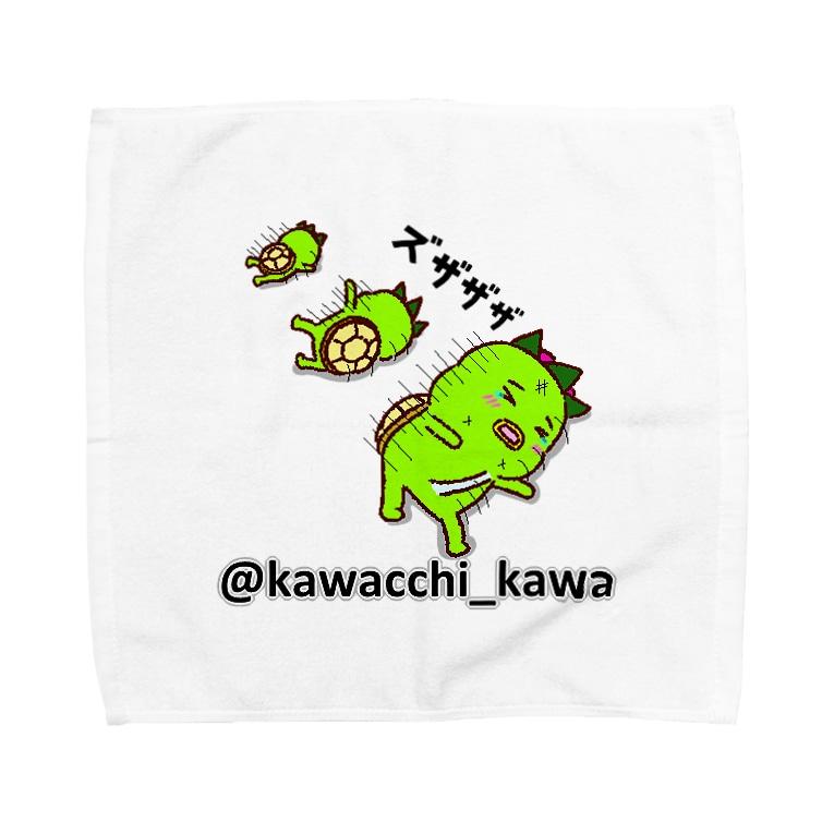 かわっち(川口市非公認キャラ)のかわっち2017-14 Towel Handkerchief