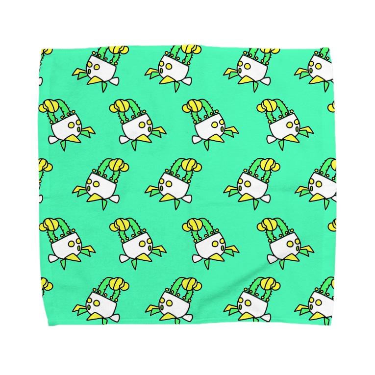 ヒボたんショップのヒボたんの行進 Towel handkerchiefs