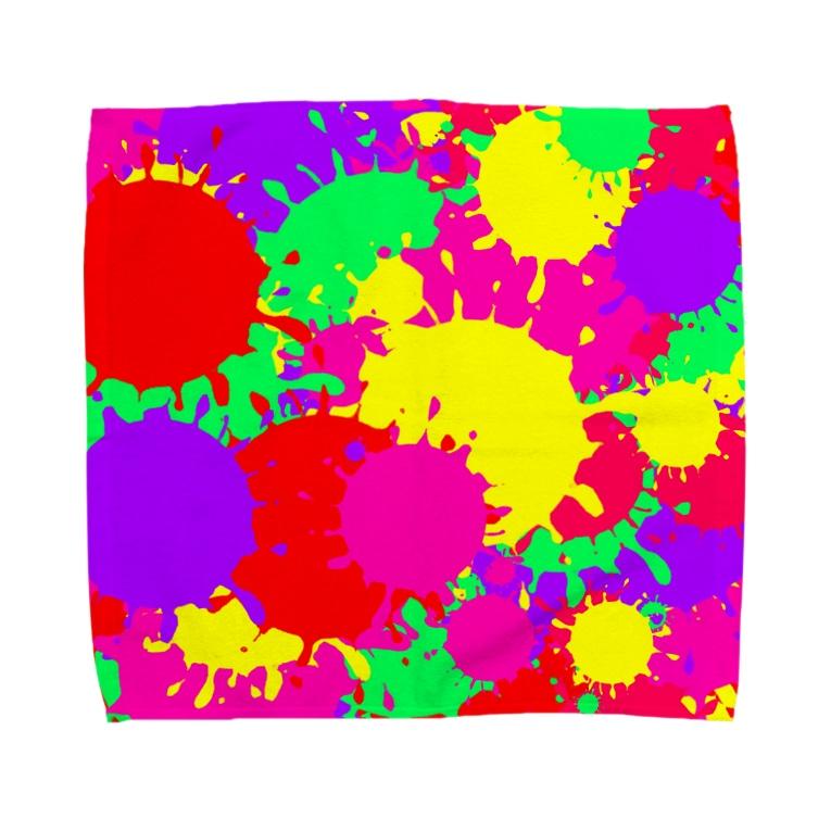 butakichi707のももクロcolor Towel handkerchiefs