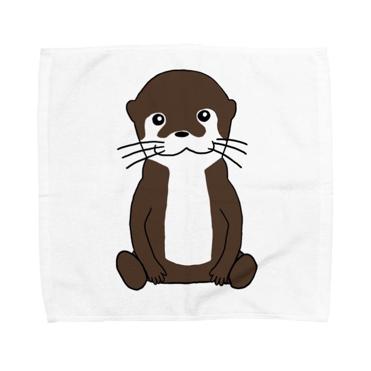 るーとらラボ@カワウソのるーとらラボ Towel handkerchiefs