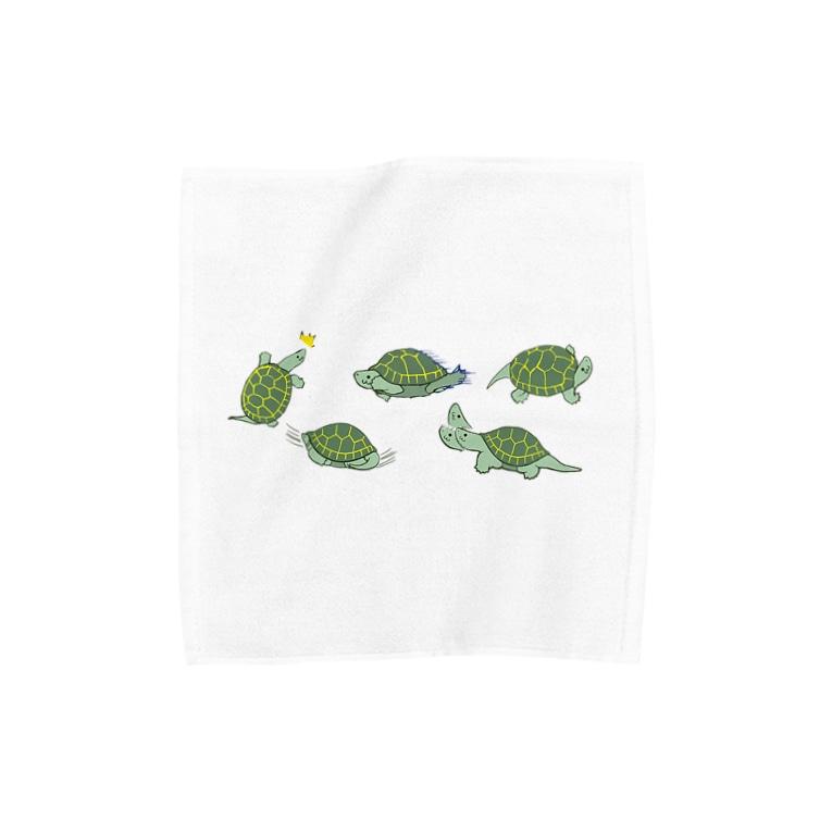 NEROのかめやまさん Towel handkerchiefs