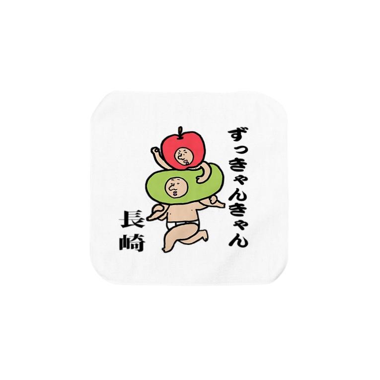 【Yuwiiの店】ゆぅいーの長崎方便グッズ Towel handkerchiefs
