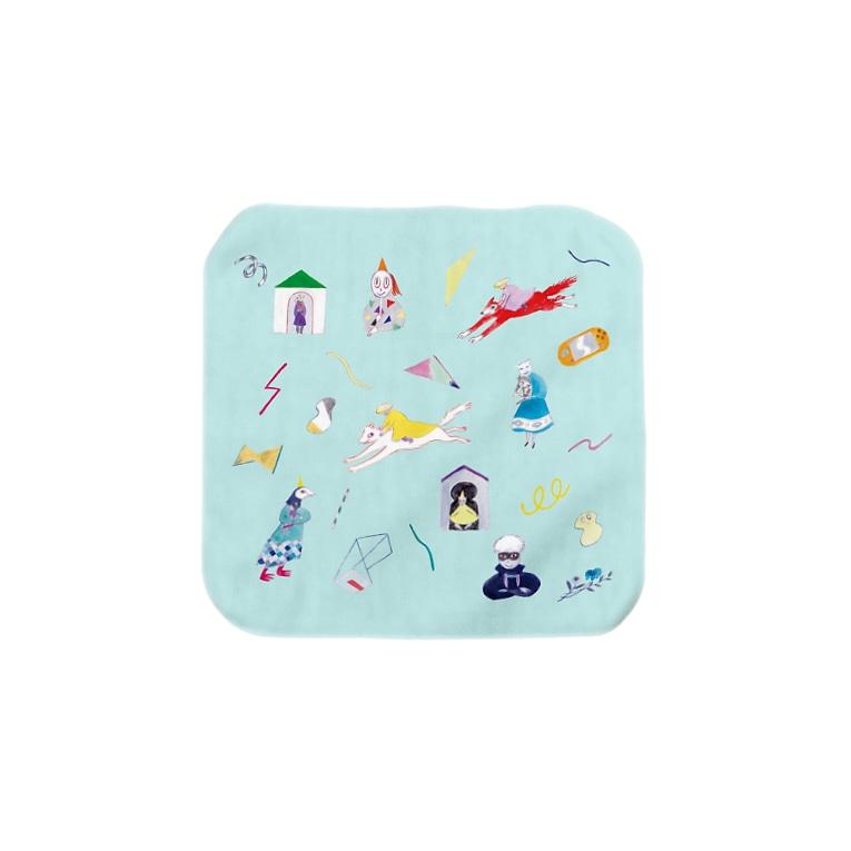 misuzuoyamaのteleportタオル Towel Handkerchief
