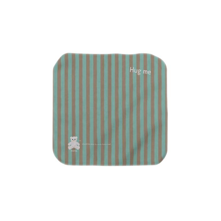 cocoartの雑貨屋さんの【Hug me】(白くま)Sサイズ Towel handkerchiefs