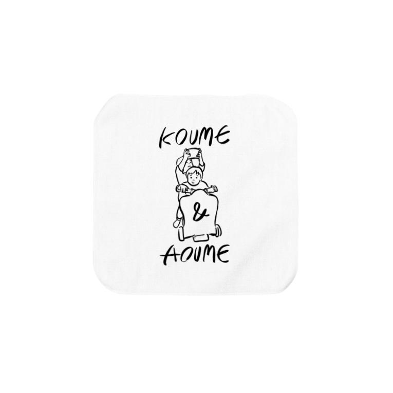 OGYショップのKOUME&AOUME_TATE Towel handkerchiefs