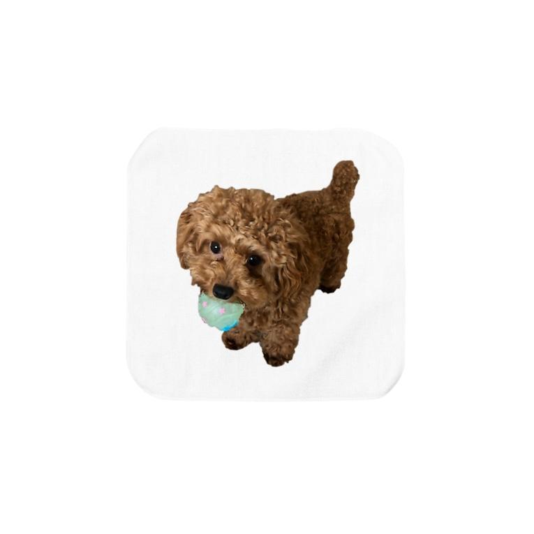 メルちゃんの可愛さを布教するだけのお店の伝説の秘宝を携えし犬 Towel handkerchiefs