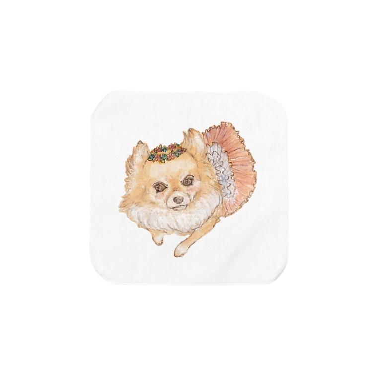 erichandmade × eric_joy_のちわひめ Towel Handkerchief