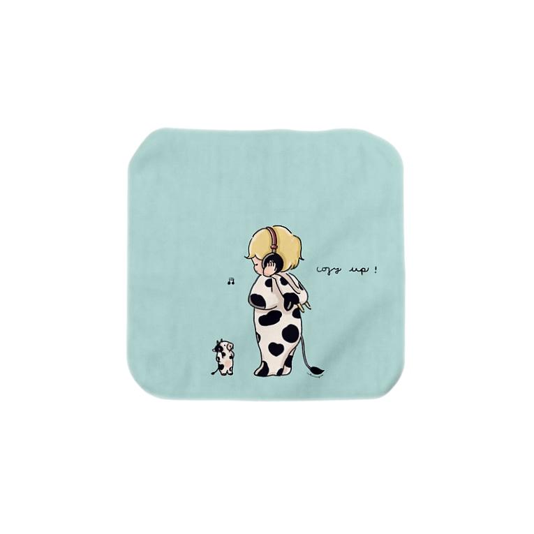 :trunk:chiyo のcozy boy Towel handkerchiefs