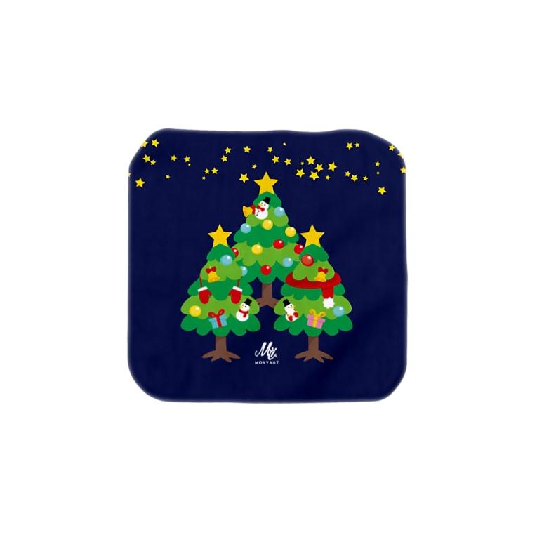 *suzuriDeMONYAAT*のCT88 森さんのクリスマスツリ Towel handkerchiefs
