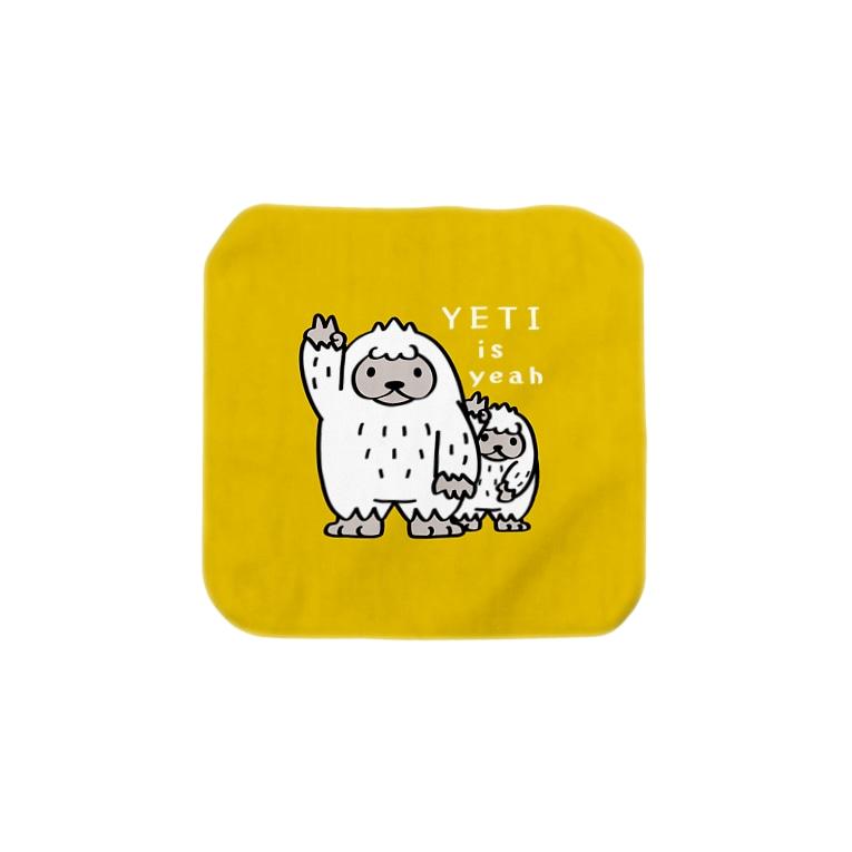 *suzuriDeMonyaa.tag*のCT94 YETI is yeah*B3227 Towel handkerchiefs