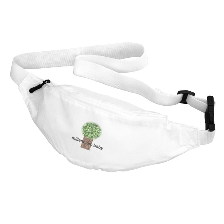 Millennium babyのMillennium baby wood Belt Bag